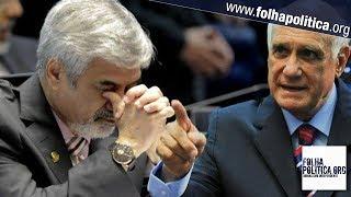Junto a Grazziotin, petista Humberto Costa xinga Bolsonaro de mentiroso e Lasier Martins reage