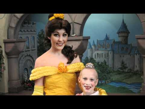 Bibbidi Bobbidi Boutique - Princess Makeover Lauren, Casey And Ava Disneyland 2012 Pendall Family video