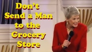 Why Shouldn't Men Go to the Grocery Store? This Hilarious Comedian Will Tell You!