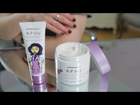 Keratosis Pilaris Treatment Products Banish bumps and get smooth, soft skin - YouTube