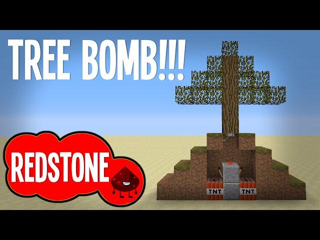 MINECRAFT :: TREE BOMB TRAP!!!