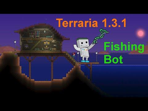 Как найти рыбака в террарии видео