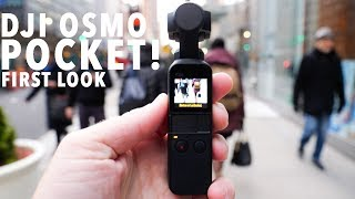 DJI OSMO POCKET! First Look!