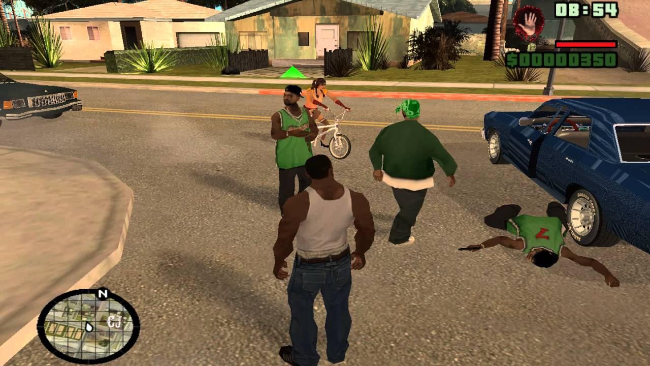 Как сделать банды в гта