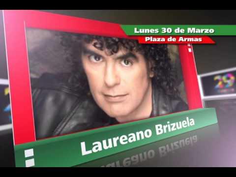 Festival Cultural Zacatecas 2015 presentación de Laureno Brizuela