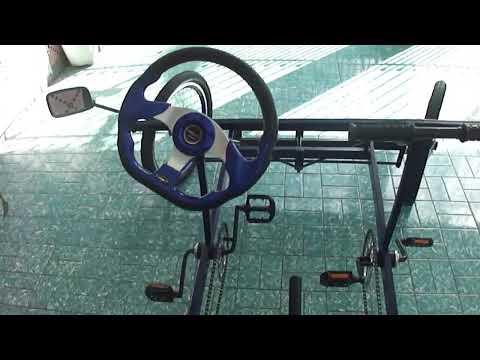Bicicleta quadriciclo