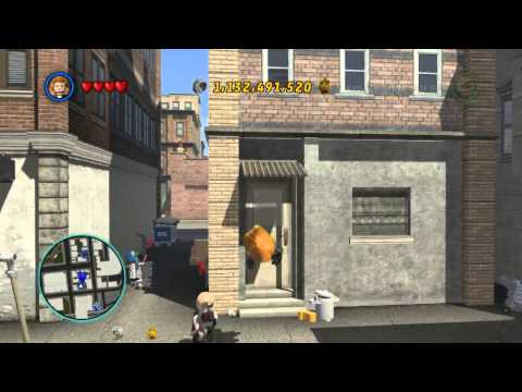 LEGO Marvel Super Heroes The Video Game - Black Widow free roam