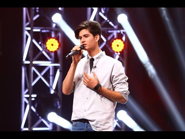 Ed Sheeran - Photograph. Vezi aici cum cântă Andrei Gabriel Petruș la X Factor!