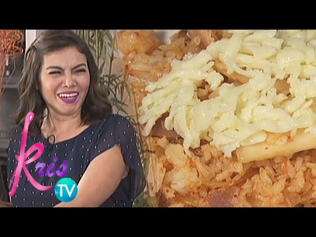 Kris TV: K's Kimchi Rice