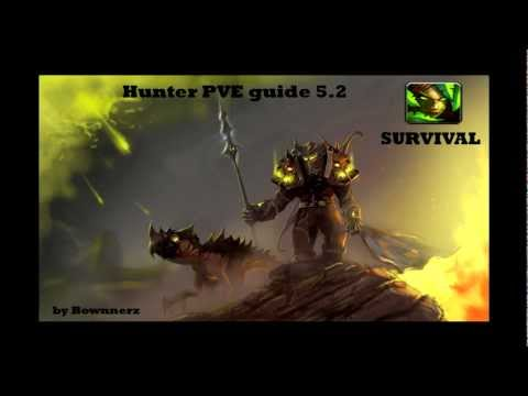 MOP- Hunter 5.2 / 5.3 PVE Guide survival