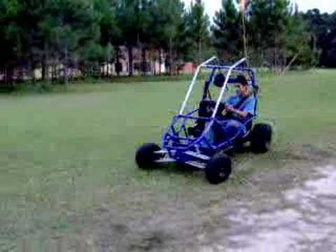 Subaru Go-Kart Flip Over