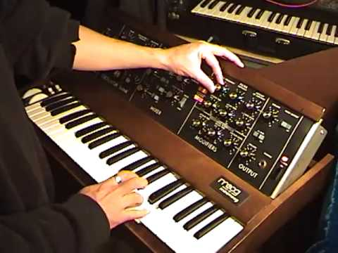 Sounds of the Moog Minimoog
