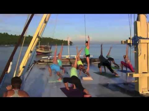 Our next 'Kula Cruise' Yoga Adventure is booked for July 5-11, 2014. We will be sailing from Bali to Lombok and the Gili Islands. Here's a snapshot of what you can expect - only the next trip we will have a beautifully renovated boat to sail the seas in style!