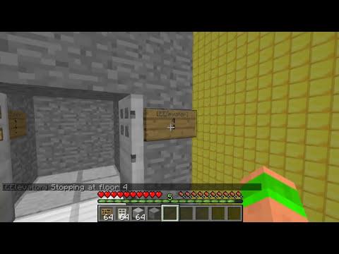 Minecraft Bukkit Plugin - Easy Elevator - Make working lifts