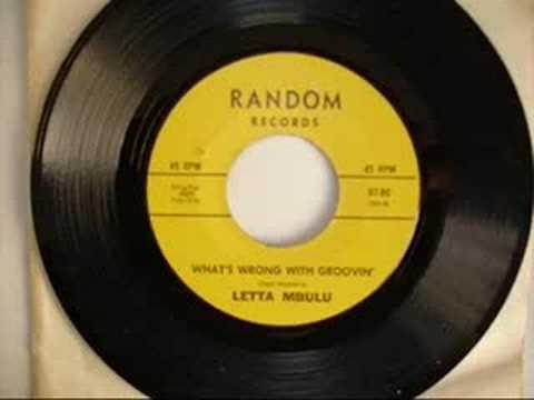 Letta Mbulu - What's Wrong With Groovin'