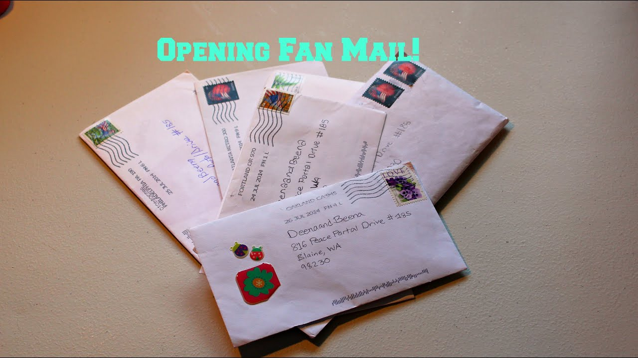 how to send a letter to a po box