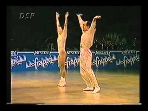 Nathalie Menotto & Daniel Idmont - World Masters Paris 1993