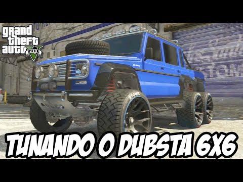 GTA V - Tunando o Benefactor Dubsta 6x6 CARRO NOVO