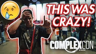ComplexCon SCAMMED ME at ComplexCon (CRAZY DAY1)
