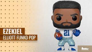 Ezekiel Elliott Funko Pop And Toys: Funko POP NFL: Ezekiel Elliott (Cowboys Home) Collectible
