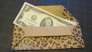 Origami Bar Money Envelope