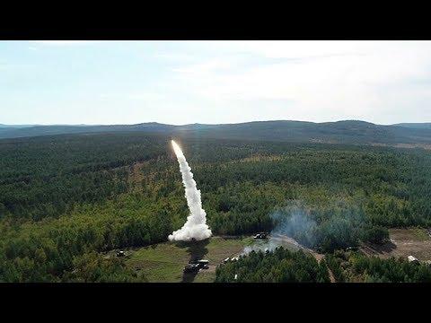 Пуски зенитных ракет на полигоне Телемба: кадры масштабных маневров «Восток-2018»