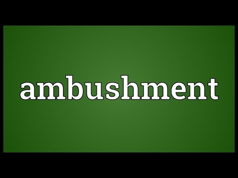 Header of Ambushment