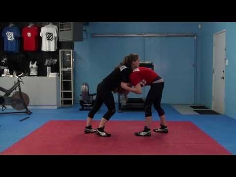 Front Headlock Defense: Beginner Women's MMA Wrestling Techniques - Image 1
