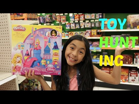 Toy Hunting Play Doh, My Little Pony, Frozen,shopkins, Monster High And Hello Kitty|b2cutecupcakes video