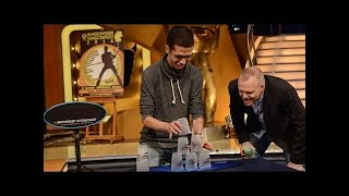 Sport Stacker Mohammed Sahraoui bei Raab - TV total