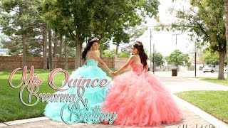 Breana and Brettney twins Quinceanera