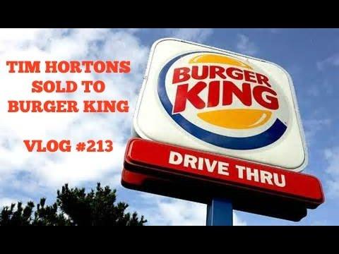 Burger King Buys Tim Hortons (Vlog #213)