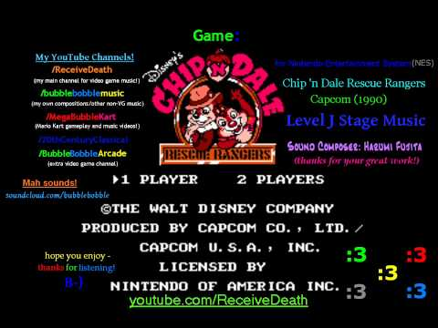 Misc Computer Games - Chip N Dale Rescue Rangers - Title Theme