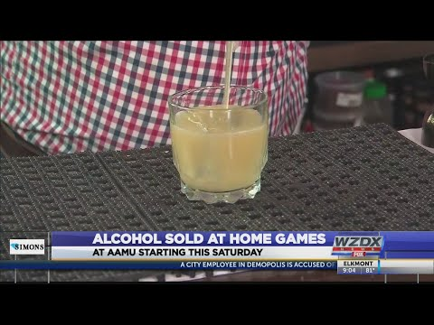 Alcohol will be sold at Alabama A&M games starting October 5