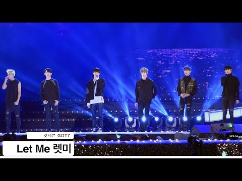 갓세븐 GOT7[4K 직캠]Let Me 렛미@20161022 Rock Music