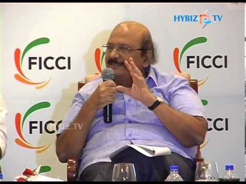 D.A. Somayajulu talking at FICCI Andhra Pradesh State Council