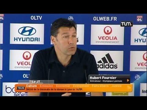 Foot: conférence de presse de Hubert Fournier