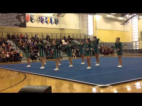 Providence Catholic High School JV Cheerleading at Grayslak - 03/28/2014
