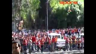 Gaziantep karıştı! Büyük olaylar! Gaziantepspor - Galatasaray Maç Öncesi [28.04.2013]