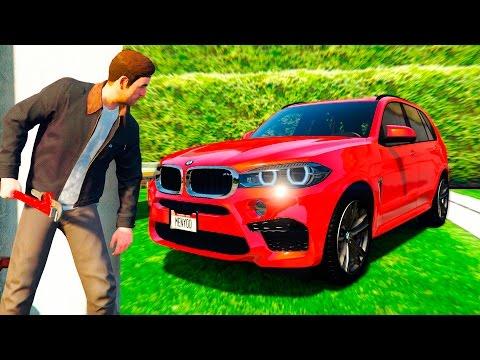РЕАЛЬНАЯ ЖИЗНЬ В GTA 5 - УГНАЛ BMW X5M У БОГАТОГО ДЯДИ! 🌊ВОТЕР