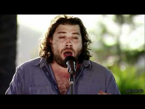 X Factor USA 2011- Judges House- Josh Krajcik- The First Time Ever I Saw Your Face .avi