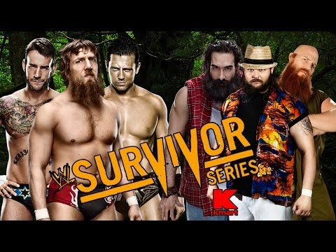 WWE Survivor Series 2013 - Daniel Bryan CM Punk & The Miz Vs Wyatt Family Full Match HD