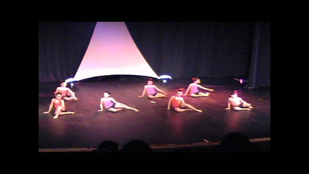 1er partie spectacle danse moderne jazz 224 pont du casse 2012