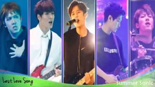 FTISLAND - Last Love Song  [Summer Sonic] Live Audio
