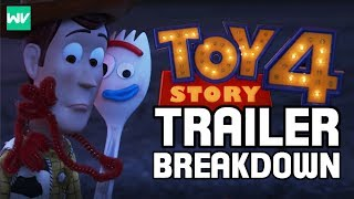 Complete Toy Story 4 Trailer Breakdown, Analysis & Theories!