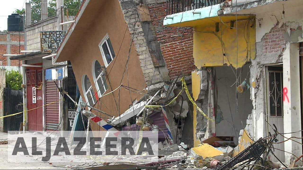 Mexico's Jojutla sustains the most earthquake damage