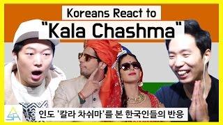 """download lagu Koreans React To Bollywoodindian Song """"kala Chashma"""" Ashanguk gratis"""