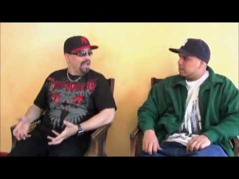 Immortal Technique and Ice T Rapping.