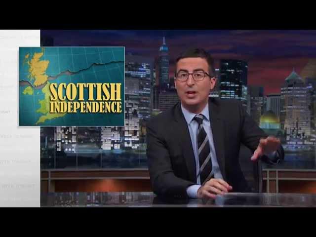 Last Week Tonight with John Oliver: Scottish Independence