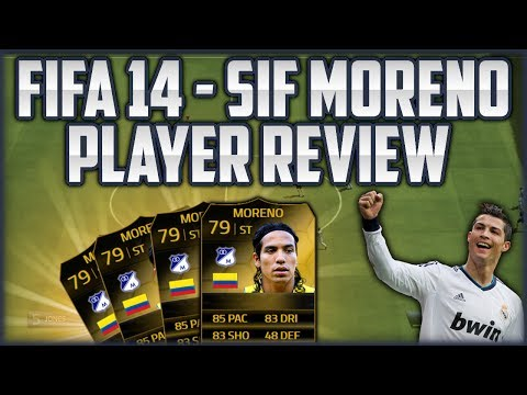 FIFA 14 Next Gen - TDW 29 SIF Moreno Review [Deutsch]